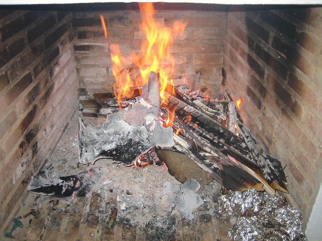Cuando deshollinar la chimenea o caldera?
