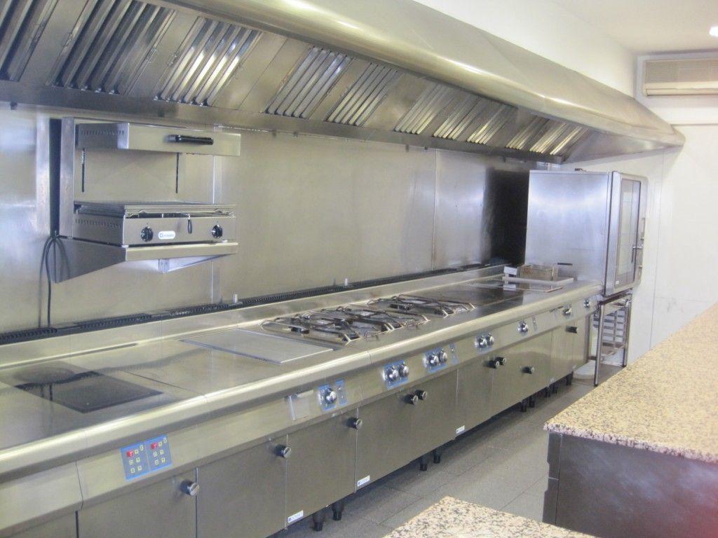 Limpieza de cocinas industriales stop deshollinadores - Suelos para cocinas industriales ...