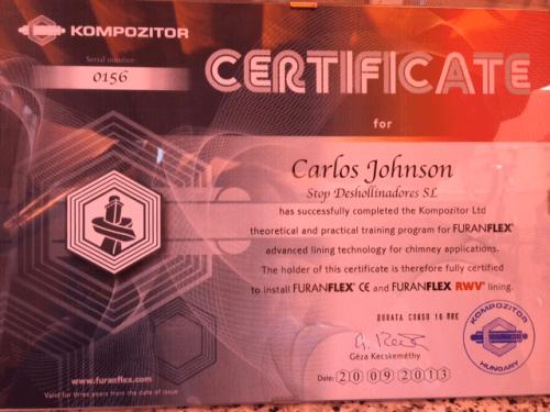 Certificación FuranFlex