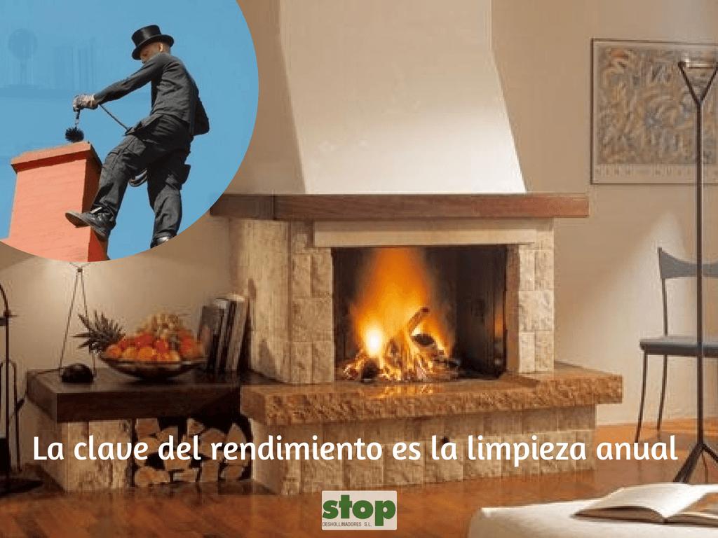 Para un tiro ptimo de las chimeneas stop - Instalar chimenea de lena ...