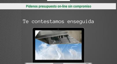 Presupuesto on-line de las campanas extractoras (sin compromiso)