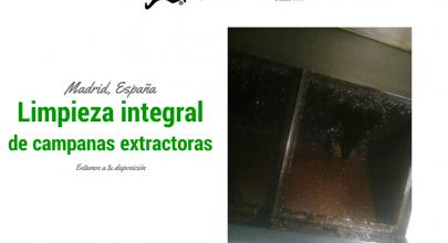 Limpiar la campana extractora de un restaurante
