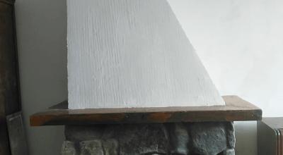 Limpieza de una chimenea de un piso